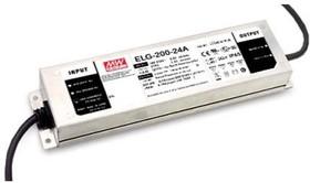 Фото 1/2 ELG-200-24A, AC/DC LED, 24В,8.4А,201Вт,IP65 блок питания для светодиодного освещения