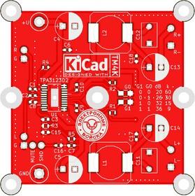 TM4Ka PCB, Печатная плата с разводкой