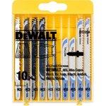 Набор пилок DeWALT DT2294-QZ по дереву/металлу HCS/HSS (10шт.)