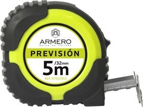 Рулетка с автоблокировкой ARMERO 102/053 5м/32мм магнит нейлон