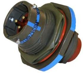AFD54-18-8PN-6117, Conn Circular PIN 8 POS Crimp ST Jam Nut 8 Terminal 1 Port Automotive