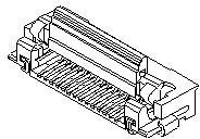 0528933095, Conn FPC Connector SKT 30 POS 0.5mm Solder RA SMD Easy-On™ T/R