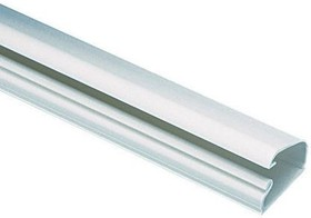 LD5WH6-A, Wiring Ducts Solid Wall Rectangular with Cover Adhesive Polyvinyl Chloride White
