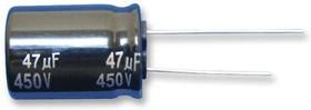 EEUEE2E101, Электролитический конденсатор, 100 мкФ, 250 В, Серия EE, ± 20%, Радиальные Выводы, 16 мм
