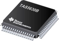 Фото 1/2 TAS5630BPHD, Аудио усилитель, 2-CH Stereo 300W Class-D [HTQFP-64]