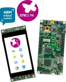 """Фото 1/3 STM32F469I-DISCO, Отладочная плата на базе MCU STM32F469NIH6 (ARM Cortex-M4), ST-LINK/V2-1, 4"""" LCD-TFT, Arduino"""