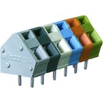 0236-0412, TERMINAL BLOCK, PCB, 12 POSITION, 28-12AWG