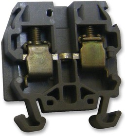 011049117, Клеммная колодка на DIN рейку, 2 вывод(-ов), 22 AWG, 12 AWG, 4 мм², Винт, 30 А