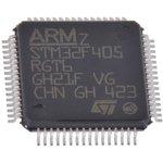 Фото 3/3 STM32F405RGT6TR, Микроконтроллер ARM, STM32 Family STM32F4 Series Microcontrollers, ARM Cortex-M4, 32бита, 168 МГц