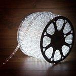 Фото 3/3 121-125-3, Дюралайт LED, постоянное свечение (2W) - белый, 24 LED/м ø10мм, бухта 100м (за 1 м)