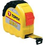 Рулетка TOPEX 27C305 стальная лента 5мx19мм