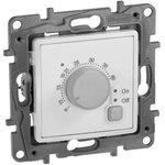 Механизм термостата СП Etika с внешним датчиком для теплых полов бел. Leg 672230