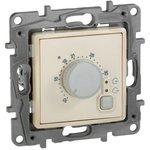 Механизм термостата СП Etika с внешним датчиком для теплых полов сл. кость Leg 672330