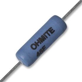 45F6K0E, Резистор в сквозное отверстие, 6 кОм, Серия 40, 5 Вт, ± 1%, Осевые Выводы, 460 В