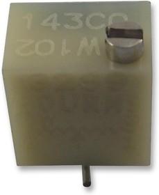 3269W-1-205LF, Подстроечный потенциометр, 2 МОм, 250 мВт, ± 10%, Серия 3269W, 12 виток(-ков)
