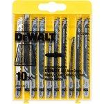 Набор пилок DeWALT DT2290-QZ по дереву HСS (10шт.)