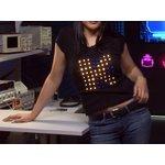 Arduino проект - Светодиодная футболка, Анимация на одежде ...