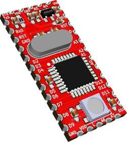 Фото 1/3 Мелисса, Arduino Mini, ATmega328P-AU + Neopixel