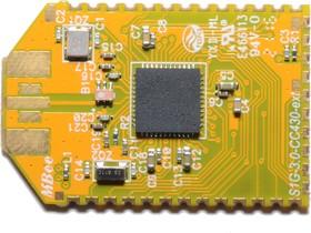Фото 1/2 MBee-868-3.0-WIRE-SOLDER, Беспроводной радиомодуль диапазона 868МГц (6LoWPAN, SimpliciTI)