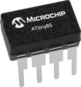 ATTINY85-20SF, MCU 8-bit ATtiny AVR RISC 8KB Flash 3.3V/5V 8-Pin SOIC EIAJ