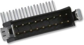 M80-8511842, Разъем типа провод-плата, двойной встраиваемый в линию, 2 мм, 18 контакт(-ов), Штекер