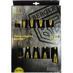Набор отверток BERGER BG1063 10 предметов