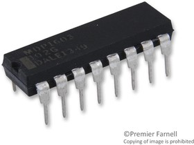 MDP16031K00GD04, Res Thick Film NET 1K Ohm 2% 1.92W ±100ppm/°C ISOL Molded 16-Pin DIP Pin Thru-Hole Tube