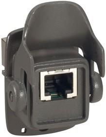 Набор розетка+вилка RJ45 IP66/67 Leg 053302