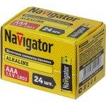 Фото 2/2 Элемент питания Navigator 14 059 NBT-NPE-LR03-BOX24