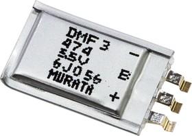 Фото 1/2 DMF3Z5R5H474M3DTA0, 0,47 Ф, 5.5 В, Ионистор