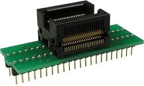 DIP44-TSOP44 ZIF TYPE II, адаптер д.прогр.м-схем