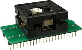 DIP44-PQFP44 ZIF 13.2X13.2 MM, адаптер д.прогр.м-схем