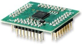 V2-EVAL-EXT48, Дочерняя плата, 48-контактное устройство QFN VNC2, для оценочных плат Vinculum-II (VNC2)