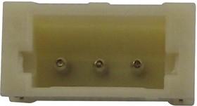 S3B-ZR-SM4A-TF, Разъем типа провод-плата, ввод сбоку, 1.5 мм, 3 контакт(-ов), Штыревой Разъем, Серия ZH