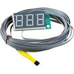 Фото 4/4 STH0014UR, Встраиваемый цифровой термометр с выносным датчиком (красный индикатор)