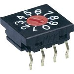 Фото 2/3 FR01FR16P-S, Switch DIP SP16T 16 Flush Screwdriver 0.1A 5VDC PC Pins 625Cycles Thru-Hole Tube