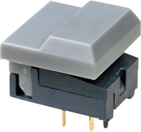 MP86B0GH-G, кнопка без светодиода серая 24В 12mА