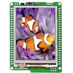 Фото 6/6 MIKROE-755, mikromedia for XMEGA, Отладочная плата на основе ATxmega128A1 с TFT Touch Screen дисплеем 320 х 240 px