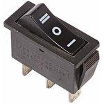 """Фото 3/3 Выключатель клавишн. 250В 10А (3с) """"ON-OFF-ON"""" черн. с нейтралью (RWB-411; SC-791) Rexant 36-2220"""
