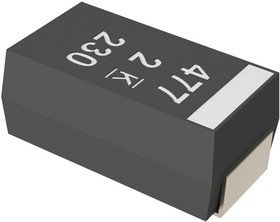 A700D226M016ATE018, POLYMER ALUMINUM ELECTORLYTIC CAPACITOR, 22UF, 16V, 20%, SMD, FULL REEL