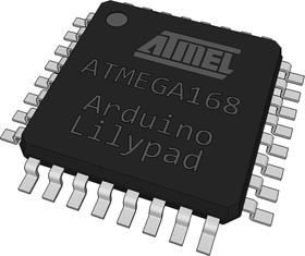 ATmega168V-10AU with bootloader arduino Lilypad, Микроконтроллер с предустановленным загрузчиком Arduino Lilypad