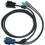 DKVM-IPCB5, All in one SPHD KVM Cable in 5m (15ft) for ...