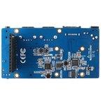 Фото 3/4 Orange Pi Zero NAS Expansion board, Плата расширения для Orange Pi Zero добавит интерфейсы: SATA, mSATA, 2хUSB, 3,5 мм AV (TBC)