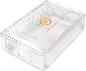 Фото 1/2 Orange Pi PC Case [Clear], Корпус для одноплатного компьютера Orange Pi PC (прозрачный )