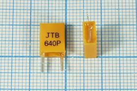 Керамические резонаторы 640кГц с двумя выводами, пкер 640 \C07x4x09P2\\3000\ \JTB640P\2P-2