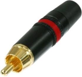 Фото 1/4 NYS 373-2, Штекер RCA на кабель красный