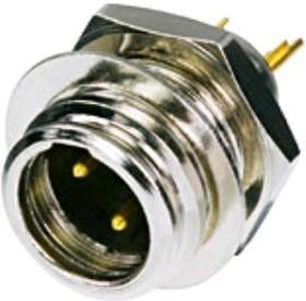 RT3MP, Штекер XLR-mini на панель 3pin влагозащищенный