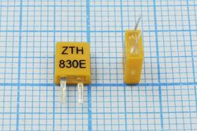 Керамические резонаторы 830кГц с двумя выводами, пкер 830 \C05x2x06P2\\ 3000\\ZTH830E\2P