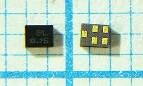 Фильтр на ПАВ 1575.42МГц для GPS, полоса 2000кГц, SMD 1.4x1мм, SAW ф 1575420 \пол\ 2000/ \S01410C5\\ SAFEB1G57KD0F00\\