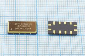 Фильтр на ПАВ 140МГц, полоса пропускания 11250кГц, SAW ф 140000 \пол\11250/3\S13365C12\ 12C\251160B\\ITF